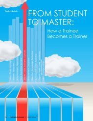 FrOM STUdeNT TO MASTer: - Sunflower Systems