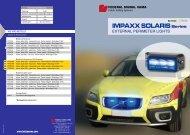 IMPAXX SOLARISSeries - Marty Systemtechnik AG
