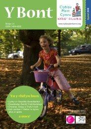 Yn y rhifyn hwn - Clybiau Plant Cymru: Kid's Clubs