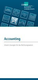 Accounting - CONET Group