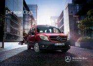 Der neue Citan. - Mercedes-Benz Magyarország