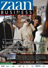 Vanilia, een Nederlands kledingmerk met ... - Zaanbusiness