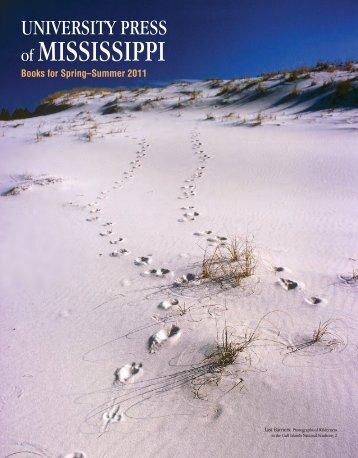 Books for Spring–Summer 2011 - University Press of Mississippi