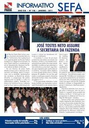 Informativo nº 148 - Janeiro - Sefa