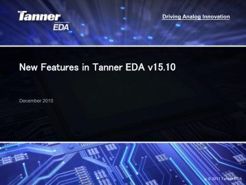 Download the What's New in v15.10 Presentation to Learn More