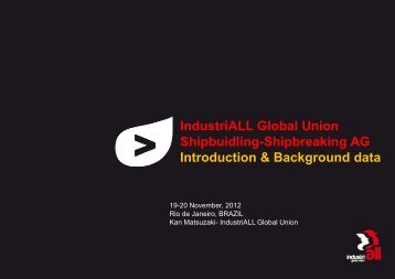 Introduction & Background Data - Industriall