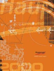 [2000] annual report - Hauppauge