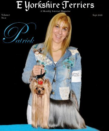 Download September Edition in PDF format - E Yorkshire Terriers