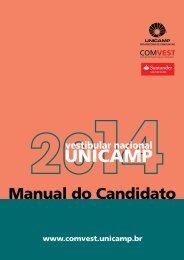 Manual do Candidato - Unicamp