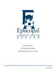 Boys' Soccer Expectations.pdf - Episcopal Academy