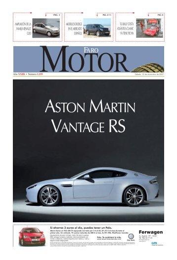 ASTON MARTIN VANTAGE RS - Faro de Vigo