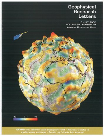 map - Geomagnetism