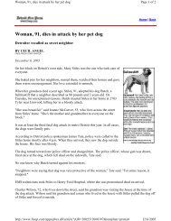 Woman, 91, dies in attack by her pet dog - Understand-A-Bull