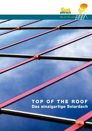 TOP OF THE ROOF - Sunattract GmbH & Co. KG
