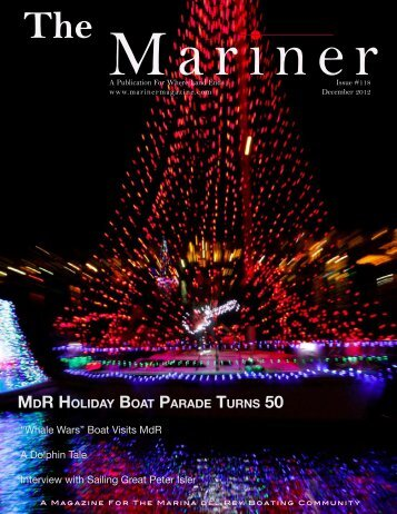 mdr holiday boat parade turns 50 - Ocean Conservation Society