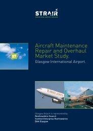Aircraft Maintenance Repair and Overhaul Market Study. - OBSA