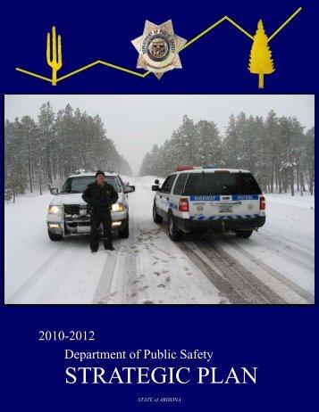 2010 - 2012 Strategic Plan - Arizona Department of Public Safety