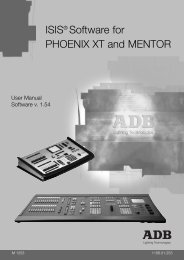 ISIS® Software for PHOENIX XT and MENTOR