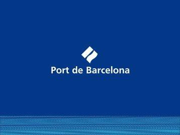 BARCELONE - Port de Barcelona