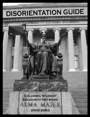 Disorientation Guide - Columbia University