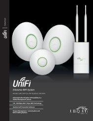UniFi Enterprise WiFi System Datasheet - WifiMarket.ro