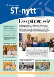 ST-nytt nr.20, 2010 - Sykehuset Telemark
