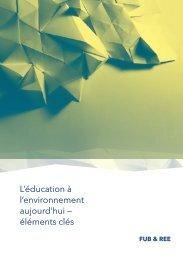 Flyer - Education à l'environnement en Suisse