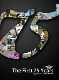 AMA Anniversary supplement, The First 75 Years - Model Aviation