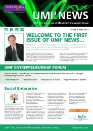 WELCOME TO THE FIRST ISSUE OF UMI3 NEWS…