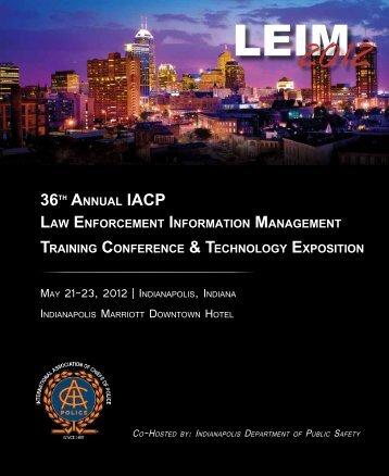 May 21-23, 2012   IndIanapolIs, IndIana - International Association ...