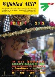 Wijkblad St. Wijkbeheer MSP, ed 1, 2012 - Mijn MSP