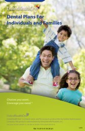 Dental Plans For Individuals and Families - eHealthInsurance