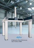ALPHA, DELTA, LAMBDA Gantry Coordinate Measuring ... - KODA - Page 4