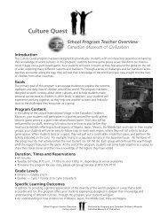 Culture Quest - Canadian Museum of Civilization