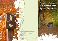 Lyme Disease Tick Bites and Protecting yourself against - Teagasc