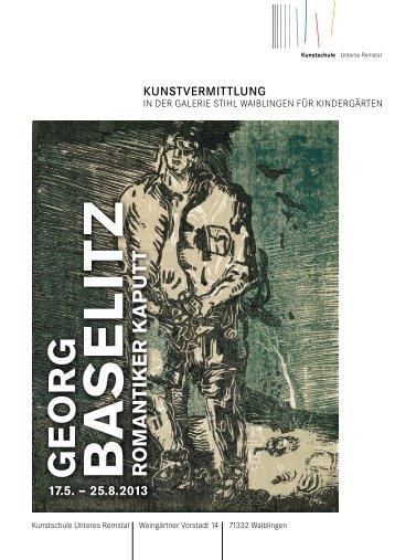 BA S E LIT Z - Galerie Stihl Waiblingen