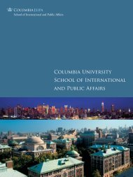 View Book - SIPA - Columbia University