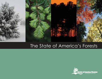 The State of America's Forests - Society of American Foresters