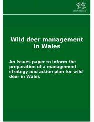 Wild deer management in Wales - ConFor