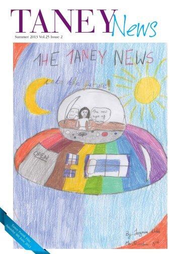 Summer 2013 Vol.25 Issue 2 - Taney Parish website