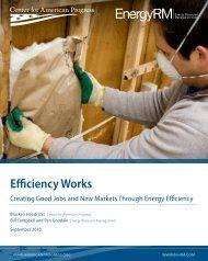 Efficiency Works - Center for American Progress