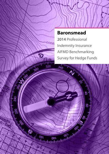 Baronsmead 2014 PI Benchmarking Survey - AIFMD