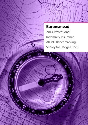 Baronsmead 2014 PI Benchmarking Survey - AIFMD