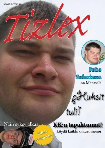 Juha Salminen KK:n tapahtumat! - Kemistikilta