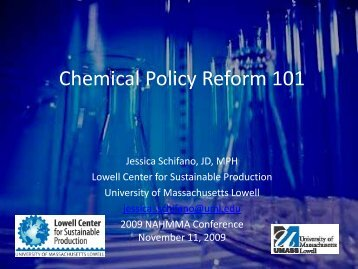 Download file - Chemicals Policy & Science Initiative