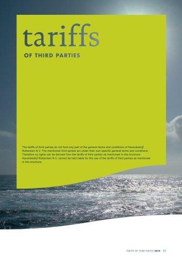 Brochure (binnenwerk) 'General Terms and ... - Port of Rotterdam