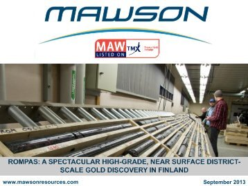 Corporate Presentation - Mawson Resources Ltd.