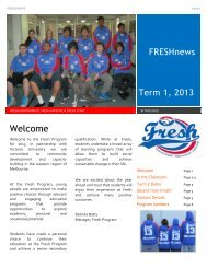 FRESHnew Welcome - Western Bulldogs Football Club