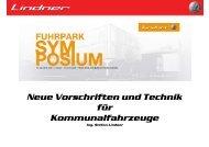 Neue Vorschriften und Technik für ... - Lindner Traktoren