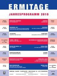 Jahresprogramm 2010 - Kulturverein-Ermitage